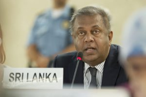 Mangala Samaraweera, Minister of Finance and Media