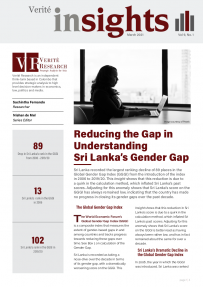 sri lanka's gender gap insights mar 2021
