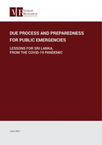 due process and preparedness for public emergencies in sri lanka